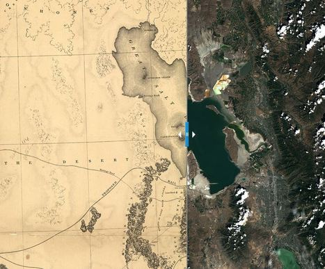 Great Salt Lake: Landsat Science | Geography Education | Scoop.it