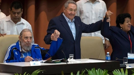 A frail Fidel Castro bids farewell in 'last speech' | Southmoore AP Human Geography | Scoop.it