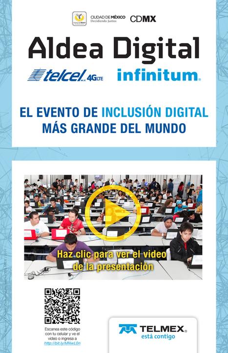 Ya viene Aldea Digital 2014 México Telmex Telcel   Herramientas Educativas   Scoop.it