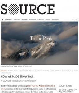 Sitio web Source reúne a la creciente comunidad de periodistas-programadores | IJNet | Medios Sociales | Scoop.it