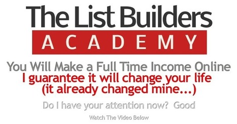 The List Builders Academy Review - How To Make $1000 /Month   JVZoo Top Sellers Product Reviews   The List Builders Academy Review   Scoop.it