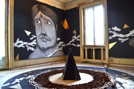 SeaCreative New Indoor Mural For The Art Of ... - Street Art News | Street art news | Scoop.it