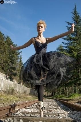 Danzando sulle punte per far rivivere il binario morto di Urbino   Le Marche un'altra Italia   Scoop.it