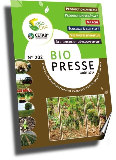 ABioDoc : Centre National de Ressources en Agriculture Biologique | Formations à l'agriculture biologique | Scoop.it