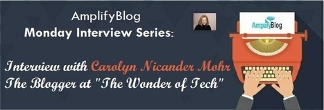 Interview with Carolyn Nicander Mohr | Social Media | Scoop.it