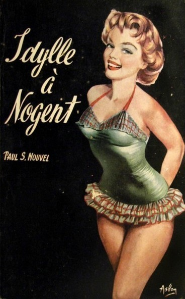 Five vintage French bookcovers by Alain Gourdon aka Aslan | Sex History | Scoop.it