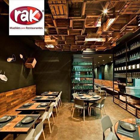 Tweet from @muebles_rak | RedRestauranteros: Decoración y Conceptos | Scoop.it