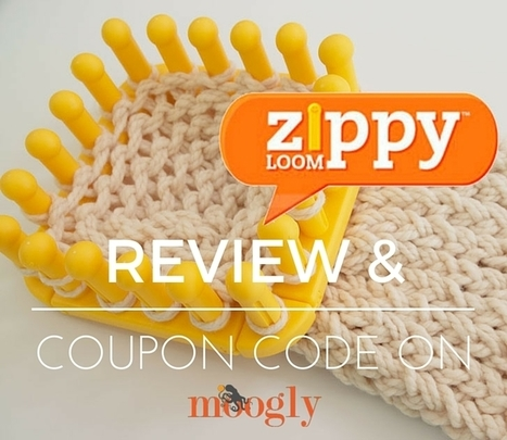 Fun with the Zippy Loom - so fun.. so FAST! - moogly | Just Crochet | Scoop.it