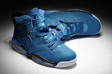 Nike Air Jordan 6 Retro Dynamic Blue Mens Shoes | popular and new list | Scoop.it