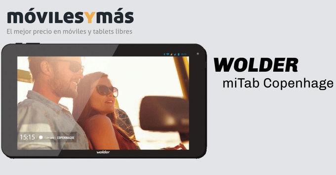 Wolder miTab Copenhague, un Octa-core por menos de 100€