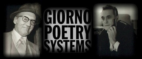 giorno poetry systems | Alternative Art Economies | Scoop.it