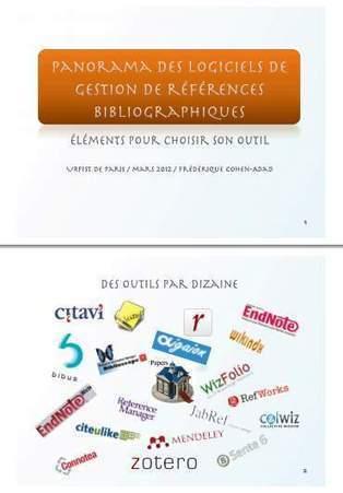 Logiciels de gestion de références bibliographiques (Zotero, EndNote etc.) : un superbe guide et comparatif | precisement.org | Zotero | Scoop.it