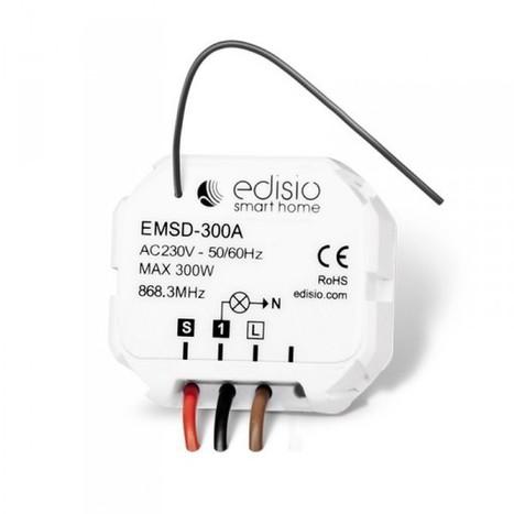 Branchement d'un micromodule Edisio sans le Neutre | Hightech, domotique, robotique et objets connectés sur le Net | Scoop.it