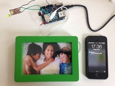 Arduino Interactive Connected Picture Frame Sends A Text From A Touch - Geeky Gadgets | Arduino, Netduino, Rasperry Pi! | Scoop.it