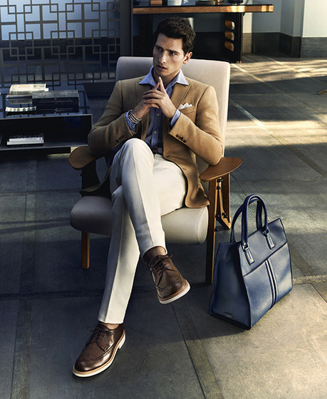 Tom Warren for Tod's Spring/Summer 2014 Campaign | Le Marche & Fashion | Scoop.it
