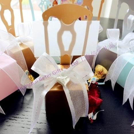 12pcs TH002 Gold Chair Wedding Candy Box土豪的高端婚礼布置 | Wedding Favor Boxes | Scoop.it