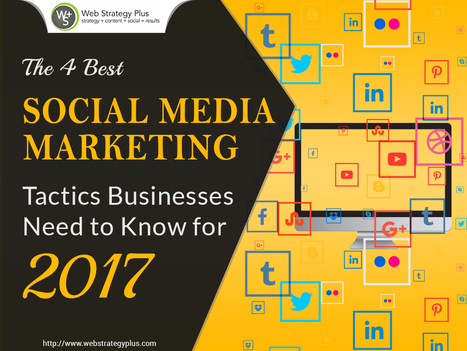 The 4 Best Social Media Marketing Tactics Businesses Need to Know for 2017   Social Media, Web Marketing, Blogging & Search Engines   Scoop.it