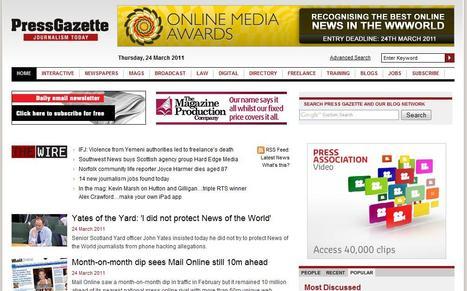 Press Gazette   Top sites for journalists   Scoop.it