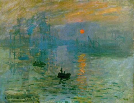 Claude Monet, «Impression, Soleil levant» | Arts et FLE | Scoop.it