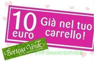 Buono sconto Bottega Verde: 10 euro per te! | Coupon, Buoni Sconto, spesa e benzina. Promozione varie | Scoop.it