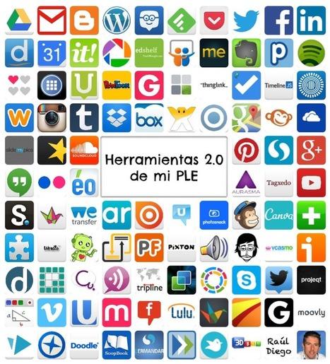 Las Herramientas 2.0 de mi PLE | Raúl Diego | Entorno Personal de Aprendizaje | Scoop.it