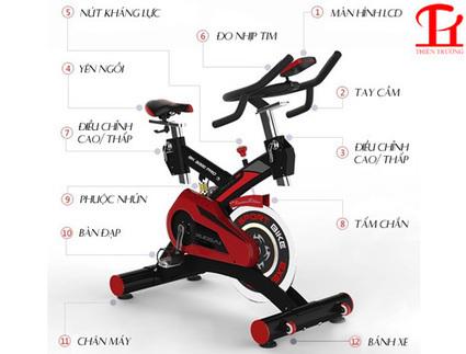 Xe đạp phòng tập BK 3000 PRO chính hãng giá rẻ nhất | fullluon | Scoop.it