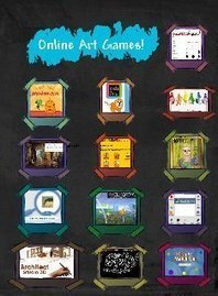 Art Room Online Games: art, color, education , education, online games | Glogster EDU - 21st century multimedia tool for educators, teachers and students | Friday Fun for Elementary Education Students | Scoop.it