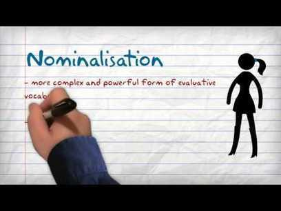 Expressing Evaluation through Nominalisation - a Powtoon | Literacy | Scoop.it