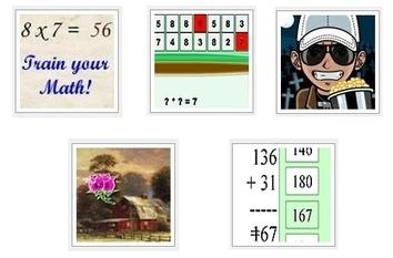 Juegos de las tablas de multiplicar | Matemáticas Primaria | Scoop.it