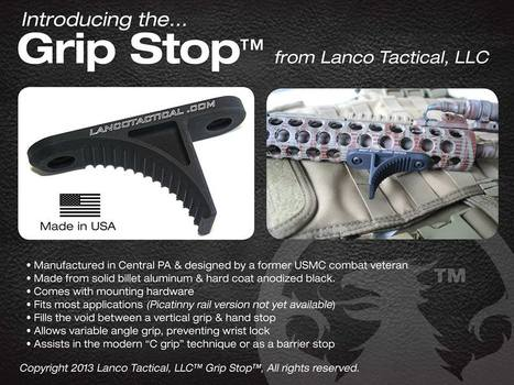 Lanco Tactical – Grip Stop Mod2   Airsoft Showoffs   Scoop.it