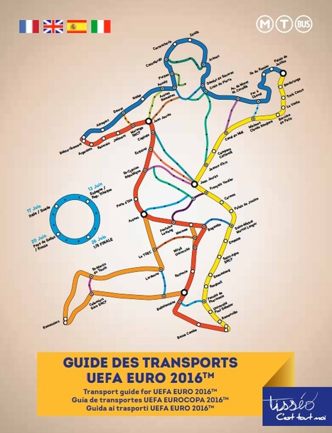 Guide des transports<br/>UEFA Euro 2016 | Toulouse La Ville Rose | Scoop.it