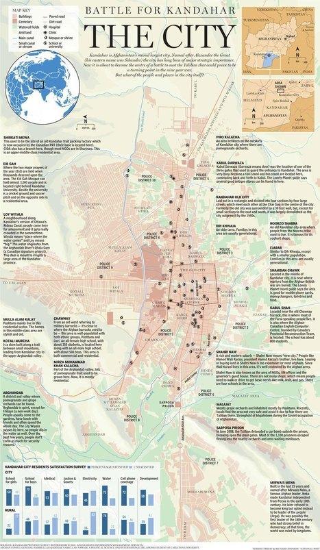 Graphic: Kandahar City and its Neighbourhoods   The Kite Runner   Scoop.it