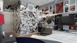 Chambre pour garçon thème super héros Marvel | picslovin | Scoop.it