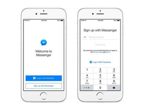 Facebook Messenger peut désormais être utilisé sans compte #Facebook | Social media | Scoop.it