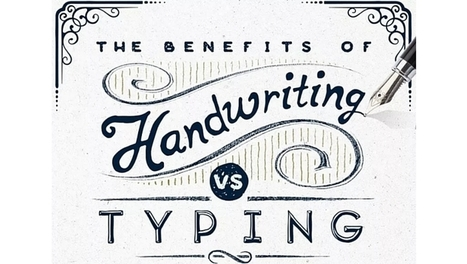 The benefits of handwriting vs typing [infographic] | Brain and Learning Factoids | Scoop.it