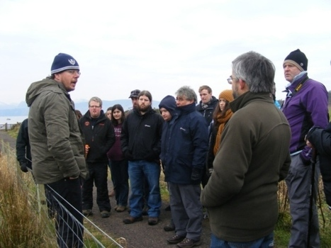 Bute welcomes Glasgow archaeology students - Buteman | Archaeology News | Scoop.it