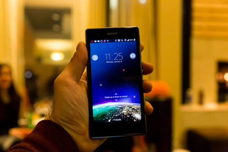 Hands On With The Xperia Z1S, And The Water Salad Test ... | Test Lies | Scoop.it