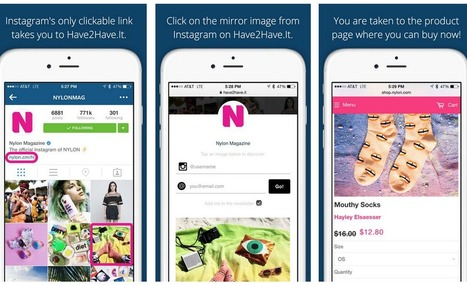 Instagram Users Can Become Consumers Thanks to a New App | Forbes | SocialMoMojo Web | Scoop.it