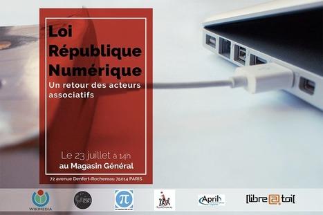 Loi «République numérique» : quel bilan pour les associations ? | Libertés Numériques | Scoop.it