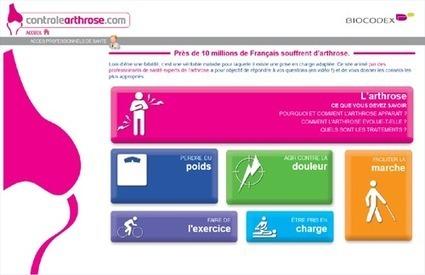 Biocodex lance le site controlearthrose - Buzz-esanté | senegal sante | Scoop.it