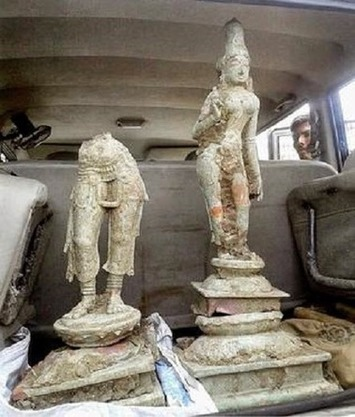 Unearthed idols dated to the 15th century   The Archaeology News Network   Asie   Scoop.it