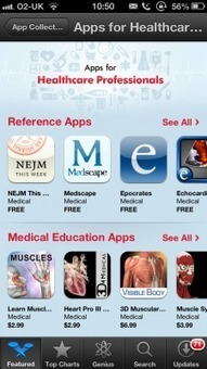Apple launches dedicated 'Apps for Healthcare Professionals' collection | Comunicación y Salud | Scoop.it