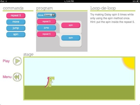 Daisy the Dinosaur to Teach Coding - Class Tech Tips | Fossils | Scoop.it