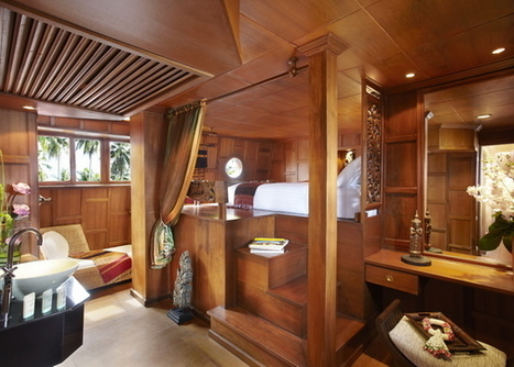 Step aboard a 100 Year Old Rice Barge! – Converted into a Boutique 2 Cabin Cruising Boat | The Luxury Travel Channel | Travel Around the World | Vacations | Excursions | Attractions | Scoop.it
