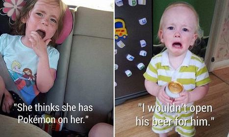 Parents' photos that capture the hilarious things that make kids cry | Kickin' Kickers | Scoop.it