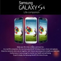 Samsung Galaxy S4 Features Infographic - PrePayMania | Visual.ly | Smart Phone - My Next Super Hero | Scoop.it