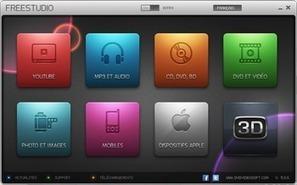 Free Studio 5 : télécharger, convertir, téléverser, graver et ripper | TICE & FLE | Scoop.it