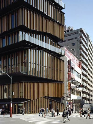 [Tokyo, Japan] Asakusa Culture Tourist Information Center by Kengo Kuma and Associates - Dezeen | The Architecture of the City | Scoop.it