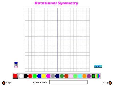 Rotational Symmetry Game | Symmetry Games | Scoop.it