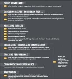 DROITS HUMAIN : Un guide de référence pour le reporting des entreprises   Performance et risques RSE Achats   Scoop.it